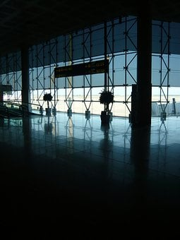 Airport, Hall, Departure, Roof, Terminal, Architecture