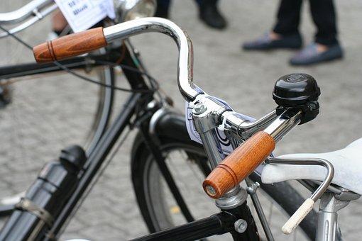 Handlebars, Wooden Handle, Bike, Velo, Cycling