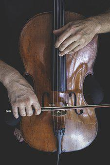 Cello, Podcast, Bow, Hands, Palms, In Process, Musician
