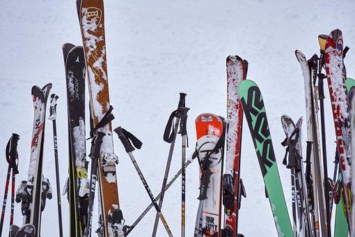 Ski, Sport, Leisure, Snow, Mountains, Insert, Park