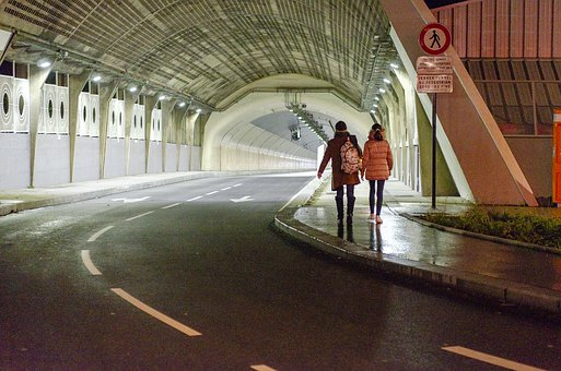 Tunnel, Pedestrian, Light, Internet, Passage, City