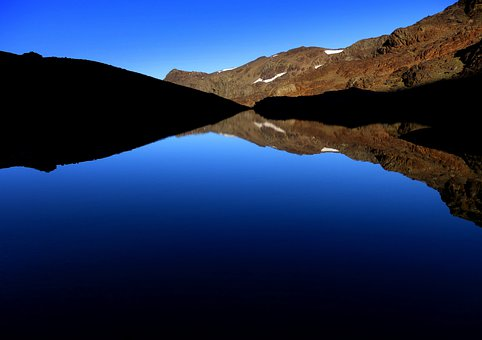 Laguna De Lanjaron, Sierra Nevada, Lake, Landscape