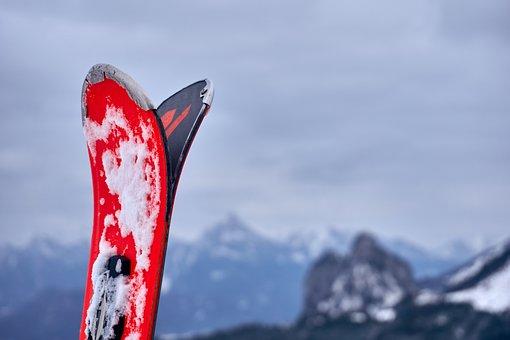 Ski, Sport, Leisure, Snow, Mountains, Insert
