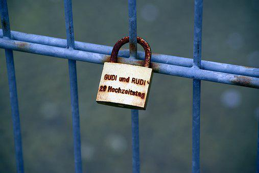 Castle, Love Castle, Fence, Love, Love Symbol