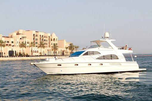 Doha, Qatar, Marine, Travel, Nature, Water, Buildings