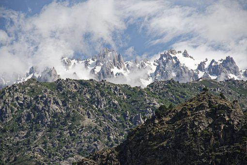 Tajikistan, Hissargebirge, Hissar, Mountains, Summit