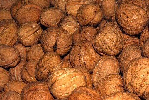 Walnuts, Nuts, Food, Advent, Christmas, Nut, Eat