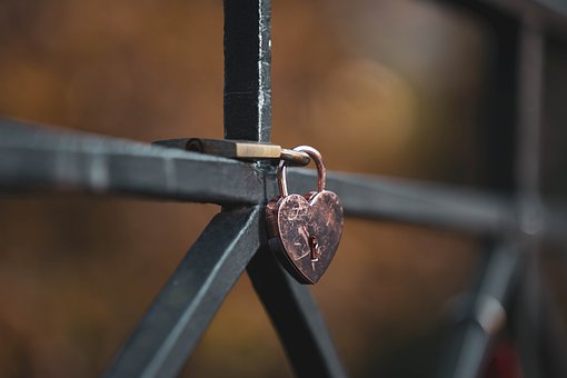 Love, Lock, Padlock, Heart, Key, Romantic, Promise