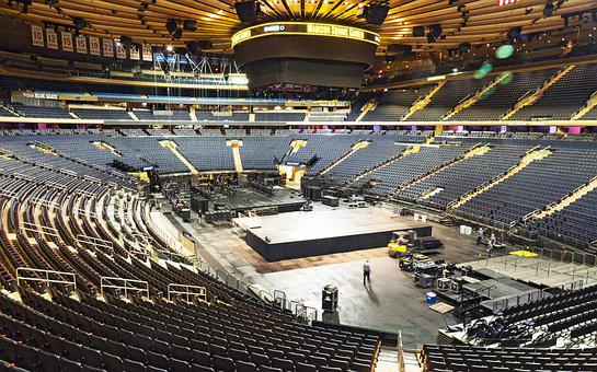 New York, Madison Square Garden, Stadium, Arena, Sport