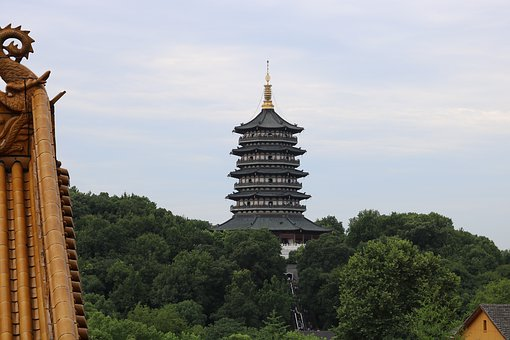 China, Chinese, Culture, Tower, Temple, History, Dragon