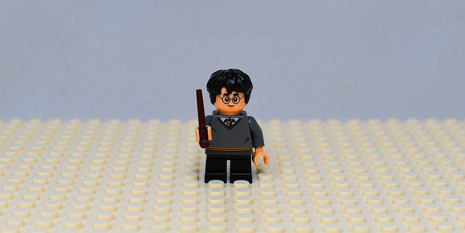 Pads, Lego, Toy, Character, Harry Potter