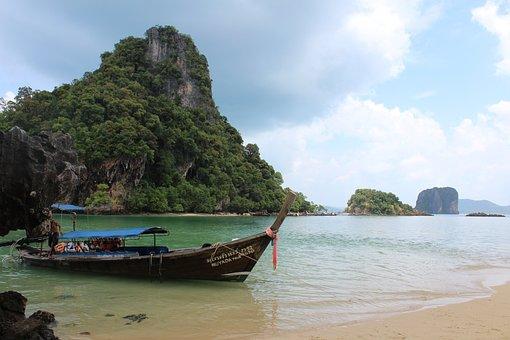 Thailand, Krabi, Travel, Nature, Island, Andaman, Ocean