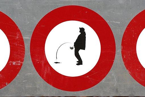 Ban, Shield, Note, Warning, Traffic Sign, Stop