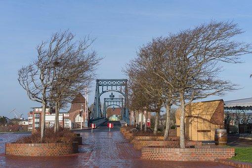 Wilhelmshaven, Kaiser Wilhelm Bridge, Swing Bridge