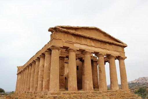 Concordia Temple, Concordia, Temple, Agrigento, Sicily