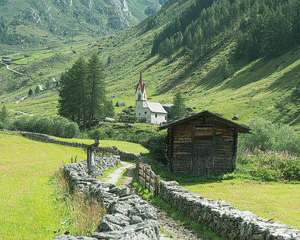 Ahrntal Valley, South Tyrol, Tyrol, Mountains, Alpine