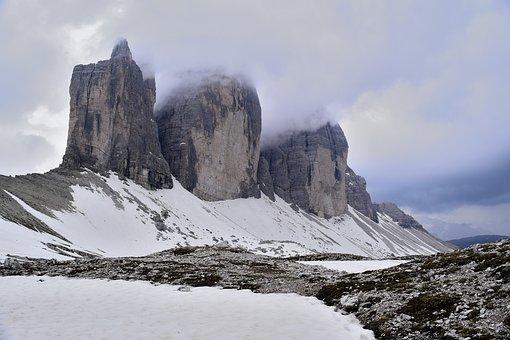 Dolomites, Italy, Mountains, Landscape, Nature, Alpine