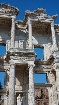 Turkey, Hilt, The Ruins Of The, Antiquity, Stone