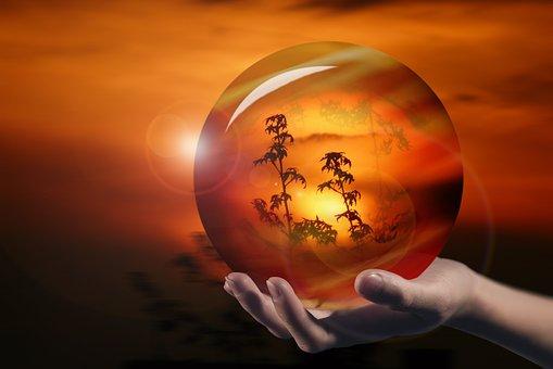 Ball, Crystal, Glass Ball, Magic, Crystal Ball, Glass
