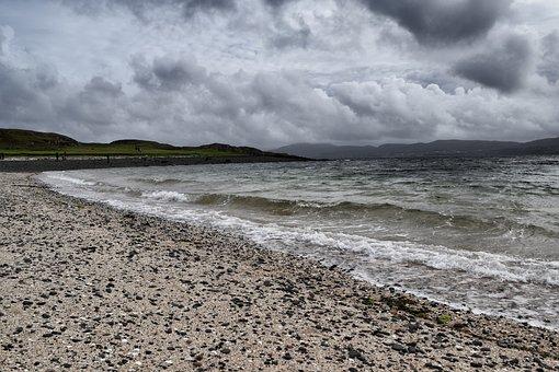 Coral Beach, Black Beach, Beach, Scotland, Mystical