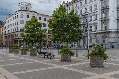 City, Brno Czech Republic, Building, Historical, Square