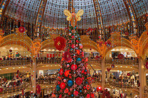 Christmas, Interior Design, Building, Shops, Decoration
