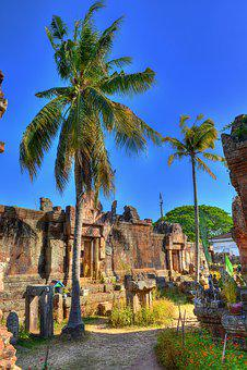 Chisor, Tree, Cambodia, Khmer, Temple, Heritage