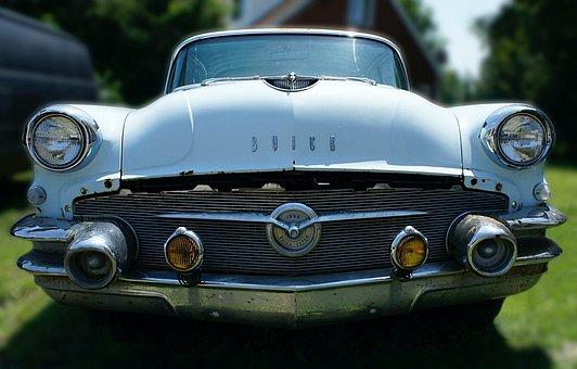 Buick, Classic, Car, Vehicle, Retro, Nostalgia