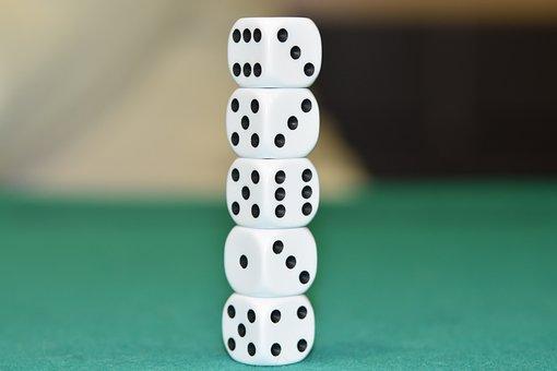 Games Dice, Column Of Dice, Of, Cube, Statistics