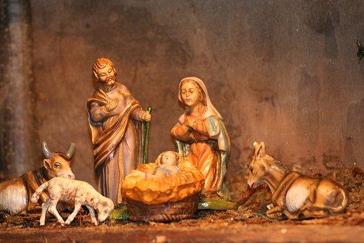 Crib, Christmas, Jesus, Nativity Scene, Bethlehem