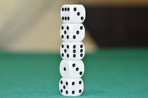 Games Dice, Column Of Dice, Of, Cube, Statistics