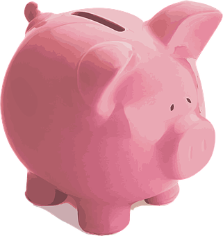 Pig, Piggy Bank, Pink, Finance, Money, Save, Investment