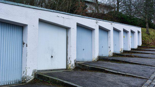 Garages, Garage Doors, Parking, Pitches, Architecture