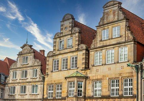 Bremen, Germany, City, North, Architecture, Cityscape