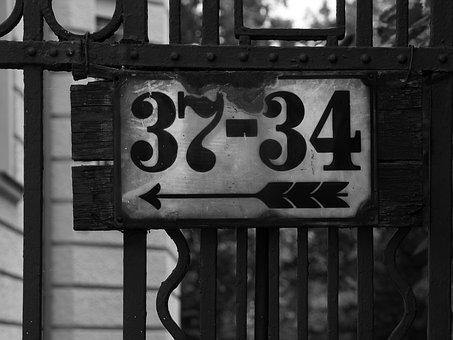 House Number, Fence, Grid, Input, Goal, Post, Number
