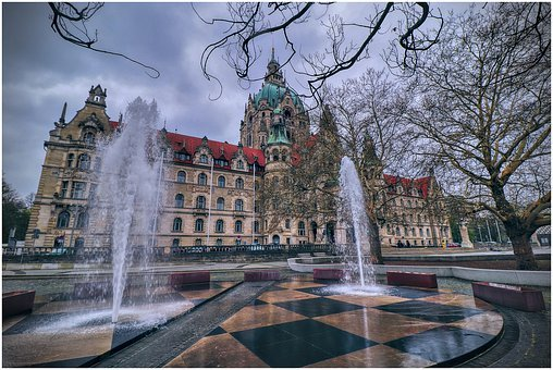 Town Hall, Hanover, Lower Saxony, Architecture