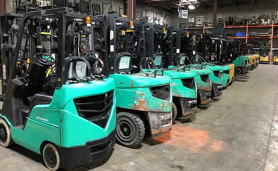 Forklift, Machines, Training, Industry, Vehicle
