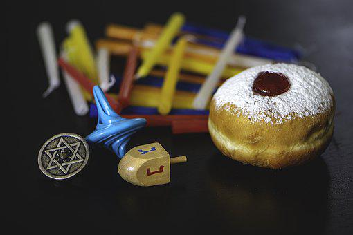 Hanukkah, Dreidel, Mitzvah, Jew, Judaism, Candles