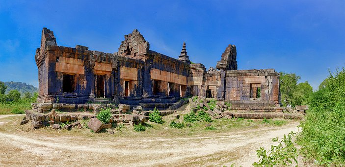 Religious, Religion, Chisor, Cambodia, Khmer, Temple