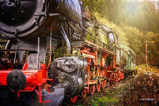 Loco, Train, Railway, Locomotive, Steam Locomotive