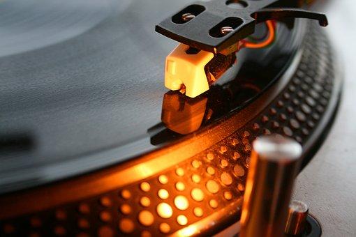 Vinyl, Dj, Music, Turntable, Audio, Sound, Retro, Party