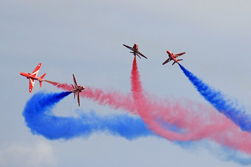 The Red Arrows, Red Arrows, Raf, Aviation, Airshow
