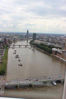 England, Thames, London, River, Uk, City, Britain