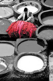 Fez, Morocco, Tannery, Leather, Moroccan, Artisans