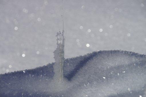Stubaital, Tyrol, Austria, Serles, Ice Needles