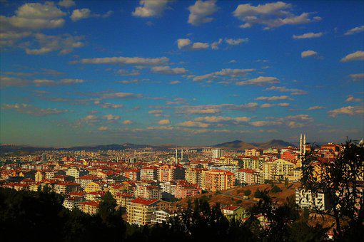 Ankara, City, Buildings, Houses, Architecture, Travel