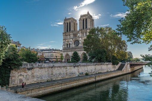 Paris, Notre-dame, France, Architecture, French, Travel