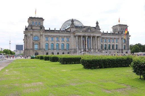 Berlin, Reichstag, Bundestag, Germany, Architecture