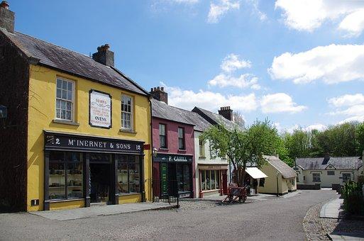 Road, Ireland, Street Scene, Architecture, Building