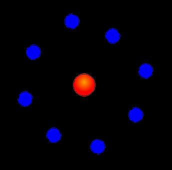 Nucleus, Atom, Diagram, Atomic